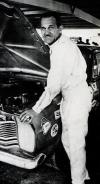 1963: The first and only African American to win a NASCAR Grand National event: Wendell Scott at Speedway Park, Jacksonville, Florida.