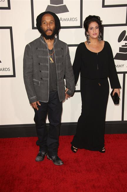 Ziggy Marley and wife: MISS