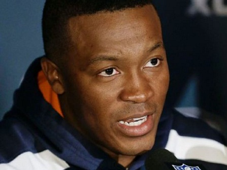 NFL wide receiver Demaryius Thomas was raised by his aunt Shirley and her husband after his mother was incarcerated for intent to distribute cocaine when he was 11-years-old. His father was serving overseas in the Army..