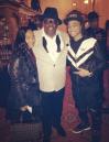Chilli and her son with Cedric The Entertainer