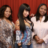 Nicki Minaj with her mom and niece
