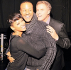 Meagan Good, DeVon Franklin, and Will Ferrell