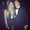 Ludacris with his girlfriend Eudoxie