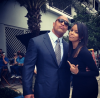 The Rock and Latoya Luckett
