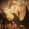 Adrienne Bailon and Rita Ora