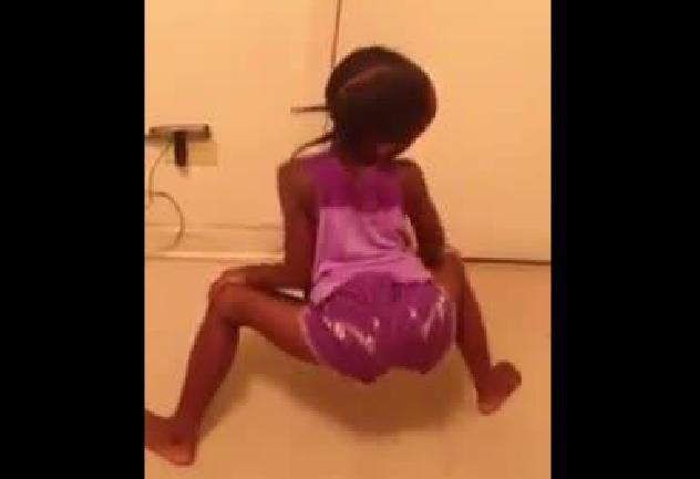 Young Black Teen Daughter