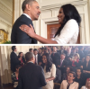 President Obama and Gabrielle Union