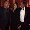 Shannon Brown, Monica, and Jay Z