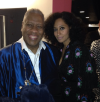 Andre Leon Talley and Tracee Ellis Ross