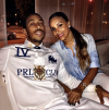 Ludacris and his girlfriend Eudoxie