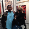 NeNe Leakes and her son Brent