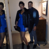 Jennifer Hudson and fiance David Otunga