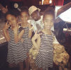 Diddy and his daughters