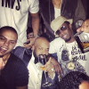 Evan Ross, Jermaine Dupri, Diddy