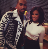 Desean Jackson and Rocsi Diaz
