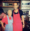 John Legend and his grandmother
