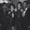 Miguel, Nazanin Mandi, John Legend and Chrissy Teigen