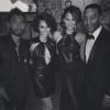 Miguel, Nazanin Mandi, John Legend and Chrissy Teigen