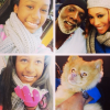 Peter Thomas, Cynthia Bailey and her daughter Noelle