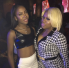 Sevyn Streeter and Lil Mo