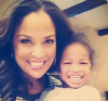 Laila Ali and her daughter