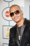 TI attends the 56th Annual Grammy Awards - Clive Davis and the Recording Academy's Pre-Grammy Gala. (Photo: PRPhotos)