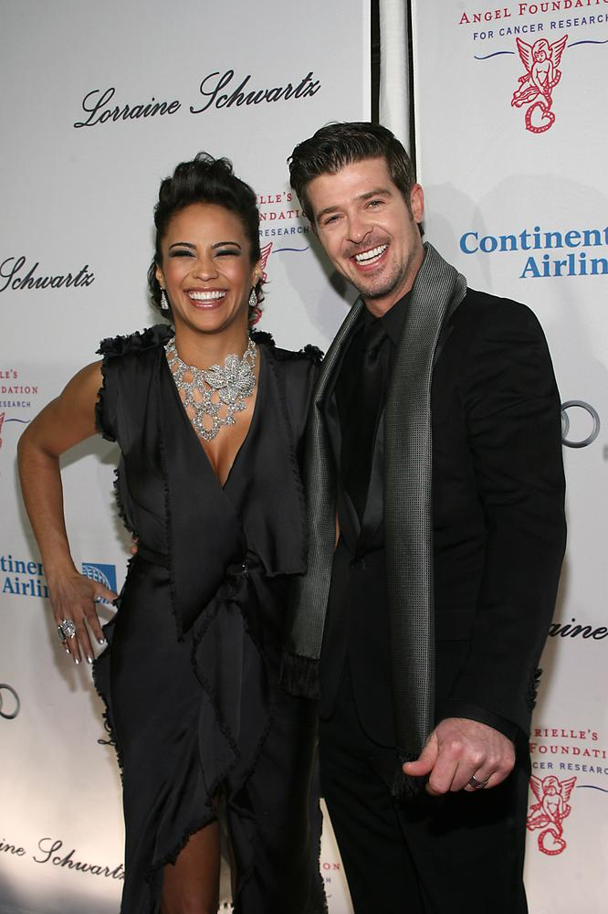 In 2007, the success of Robin's CD found these two lovebirds at the Soul Train Music Awards.