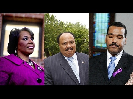 The King Children have a history of feuding over their father's legacy- Now Martin Luther III and Dexter King are suing their sister Bernice King over the rights to their father's Nobel Peace Prize and Bible.