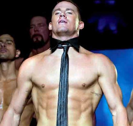 Channing Tatum- It could be the dancing or the body, either way we are on Team Channing.