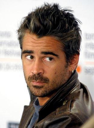 Colin Farrell- Who doesn't like an Irish bad boy?