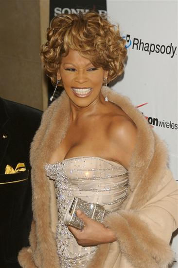 Whitney Houston at Clive Davis' Grammy's Pre-Party in 2007
