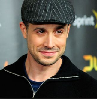 Actor Freddie Prinze Jr., the son of the late stand-up comedian Freddie Prinze.