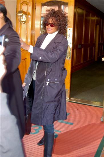 Whitney Houston in 2010