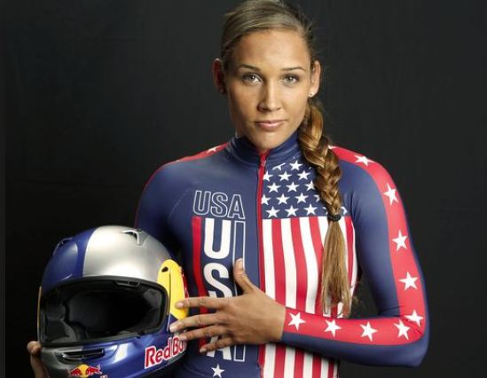 Lolo Jones- U.S. Bobsled Team