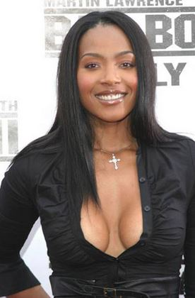 Singer and actress Nona Gaye is the daughter of the late Marvin Gaye.