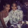 Chanel Iman and Kelly Rowland