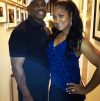 Laila Ali and her husband