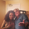 Oprah and Jay Leno