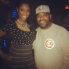 Jennifer Williams and Bun B