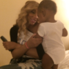 Tamar Braxton and her son Logan