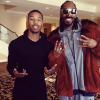 Michael B. Jordan and Snoop Dogg