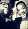 Questlove and Will Smith