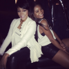 Monica Brown and Gabrielle Union
