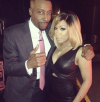 Arsenio Hall and K. Michelle