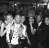 Pharrell, Kelly Rowland, and friends