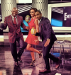Deion Sanders, Guiliana Rancic, and Terrence J