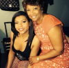 Taraji P. Henson and her mom