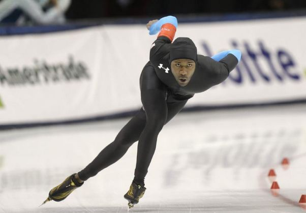 Shani Davis- USA Speed Skater