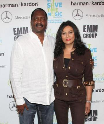 Tina & Mathew Knowles