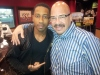 Tom Joyner and Brandon T. Jackson